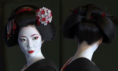 how to do geisha hairstyles making of geisha by lars martinsson