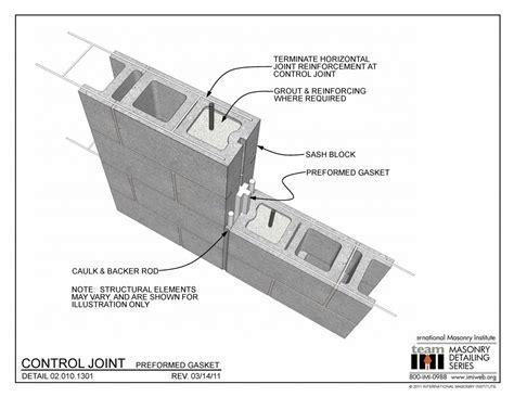 control joint preformed gasket