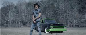 rap artist yelawolf features classic chevy truck in
