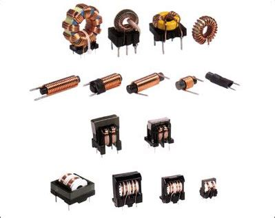 types of inductors in electronics inductor coil line filter