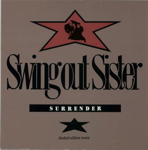 surrender swing out sister swing out sister surrender limited edition remix uk 12