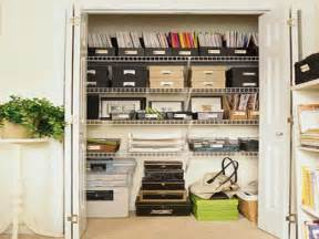 18 photos of the home office closet organization ideas