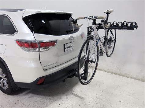 Bike Rack Toyota by Toyota Highlander Advantage Sportsrack Tiltaway 4 Bike