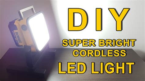 dewalt 20v led light diy bright led light dewalt 20v powered cordless