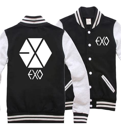 Sweater Exo By Retrouve Merch exo exo varsity jacket on storenvy