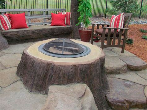 build pit around tree stump home all phases landscaping