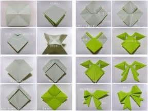 Bow out of paper origami origami bow tutorial and origami ribbon bow