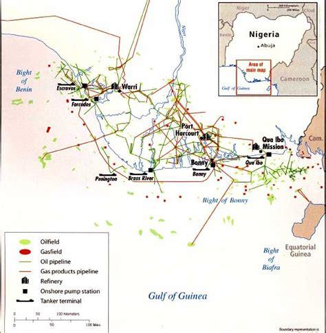 petroleum hängele spilpunt and gas in nigeria
