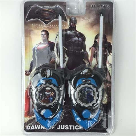 Diskon Walkie Talkie Batman Superman popular walkie talkie buy cheap walkie talkie lots