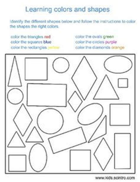 colors and shapes lyrics i my colors collection lesson planet