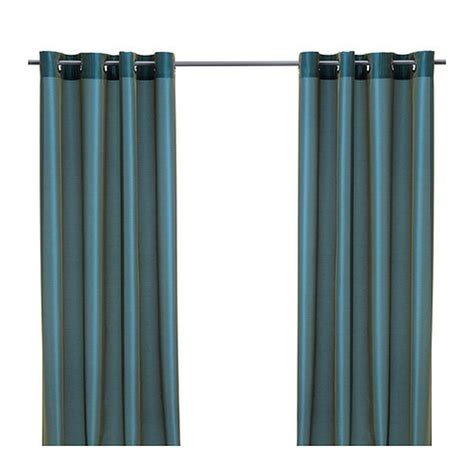 blue green drapes ikea parlbuske curtains green blue drapes 98 quot p 196 rlbuske