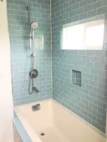 Bathroom Shower Wall Ideas White Rectangle Bath Up With Grey Accent Subway Tiles Wall Panels With Built In Basket Bath