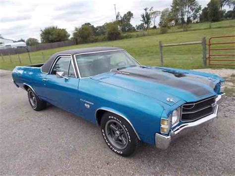 71 el camino 1971 chevrolet el camino for sale on classiccars