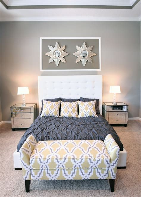 yellow and grey master bedroom 17 best images about master bedroom ideas yellow grey