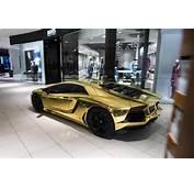 Five Lamborghinis Drive Into A Mall In Miami  Motorward