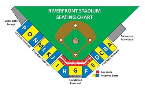 bucks seating chart bucks revise seating chart at riverfront stadium for 2016