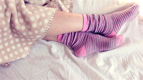 Wearing Socks To Bed wearing socks to bed is ok and actually for you