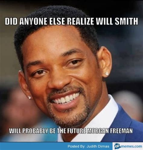 Morgan Meme - will smith the future morgan freeman memes com