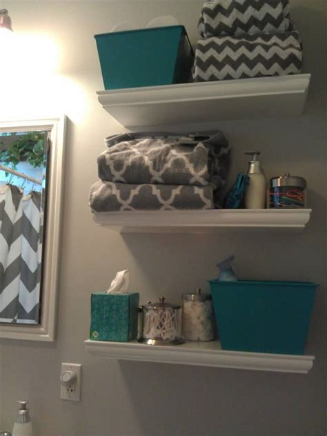 teal bathrooms teal and grey bathroom best 25 chevron bathroom ideas on