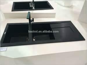 high quality quartz kitchen sinks black color kitchen