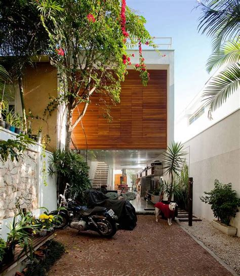 brazilian home design trends narrow and long house plan adapted for beautiful ergonomic