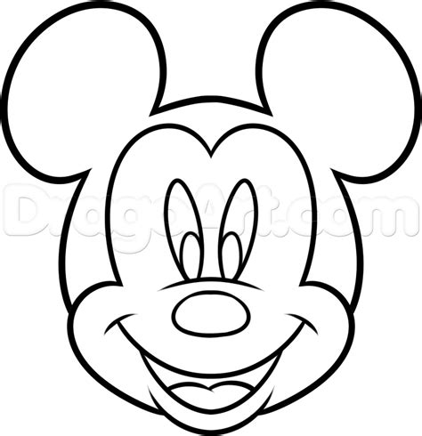 drawing images for kids how to draw mickey mouse for kids step by step disney