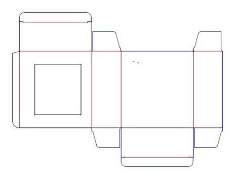 skippy box template corrugated  folding carton box
