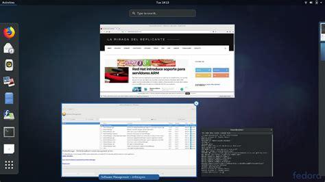 Linux Fedora 27 Soas Live 64 Bit fedora 27 disponible linux os net