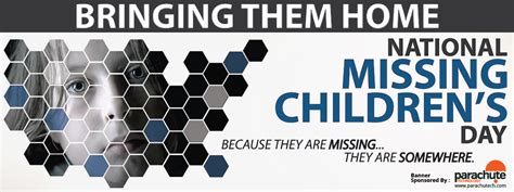 National S Day National Missing Children S Day Tumwater Wa City