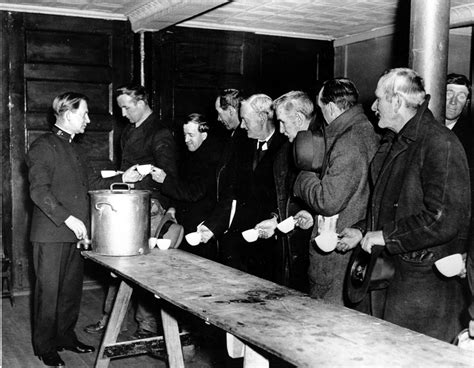 The Great Depression Soup Kitchen by 10 Scary Retirement Statistics Benefitspro