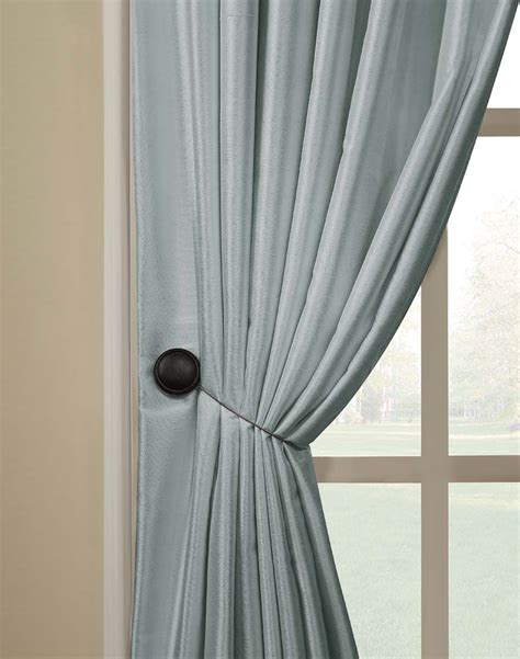 where to put holdbacks for curtains magnetic tieback pair curtainworks com