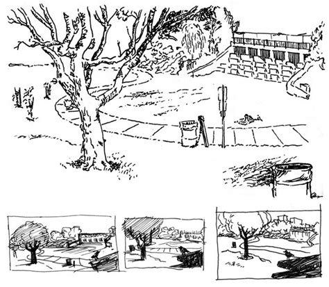 sketchbook park ashcan sketches