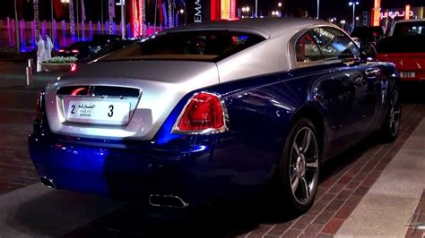 New Dark Blue Rolls Royce Wraith Youtube