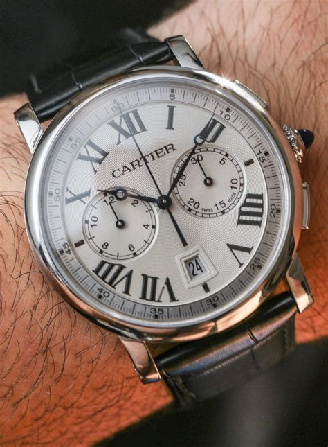 watches for cartier rotonde chronograph watch review ablogtowatch