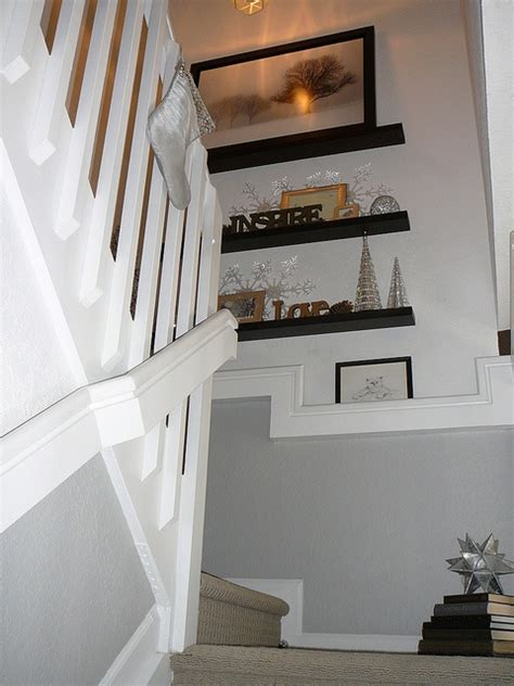 stair decor focal point deck the halls stairway walls decor