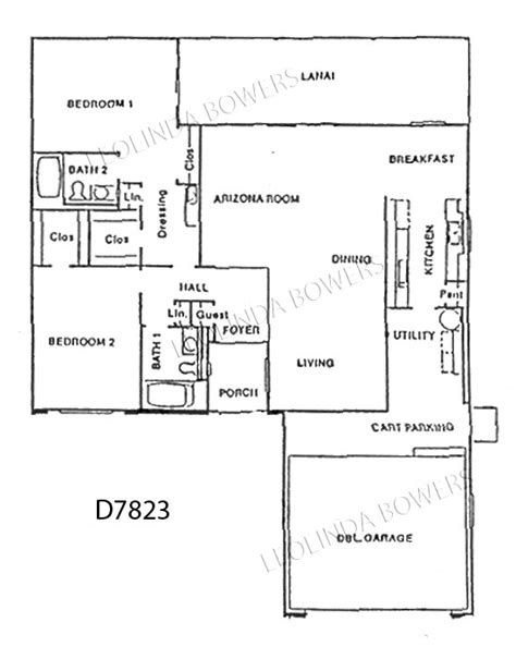 sun city west floor plans sun city west d7823 duplex floor plan