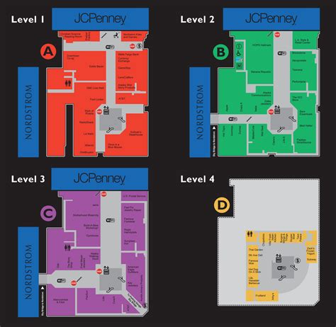 park mall map mall map of southpark a simon mall rachael edwards