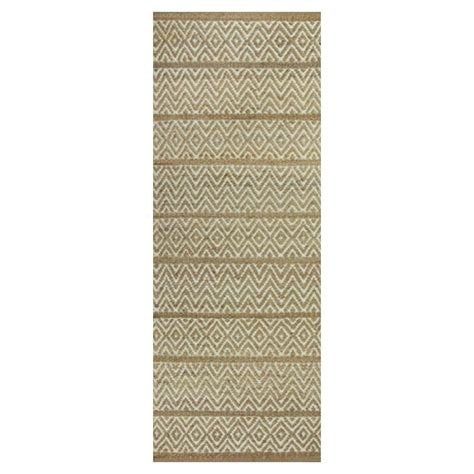 home depot rug runners home decorators collection baja beige 2 ft 6 in x 8 ft rug runner 7440340810 the home depot