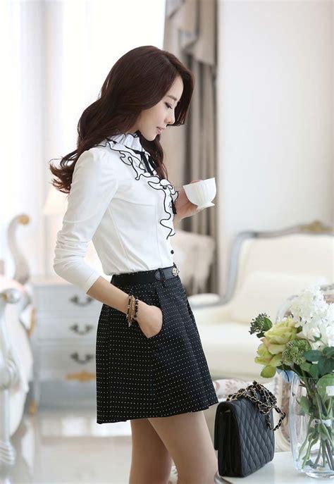 Jual Kemeja Wanita Korea by Kemeja Wanita Model Korea 2014 Model Terbaru Jual Kemeja