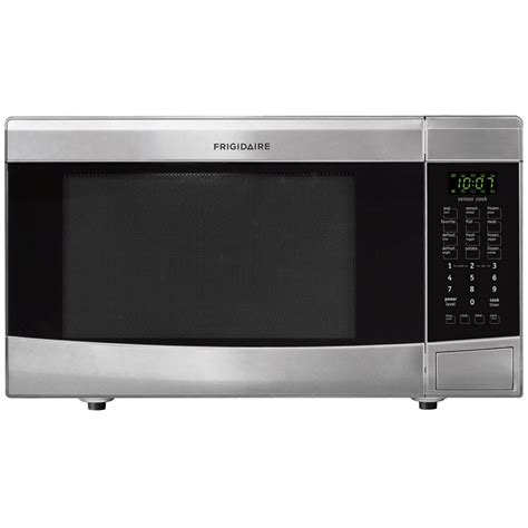 Countertop Microwaves At Lowes by Shop Frigidaire 1 6 Cu Ft 1 100 Watt Countertop Microwave