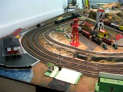 american flyer layout video a c gilbert american flyer department store layout youtube