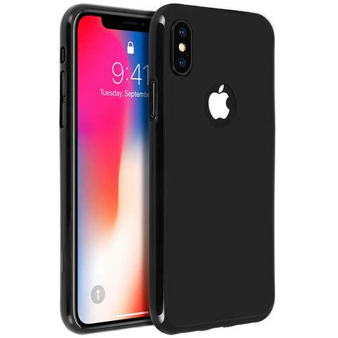coque silicone gel incassable noir p apple iphone x et xs coques tpu fr bk ipx