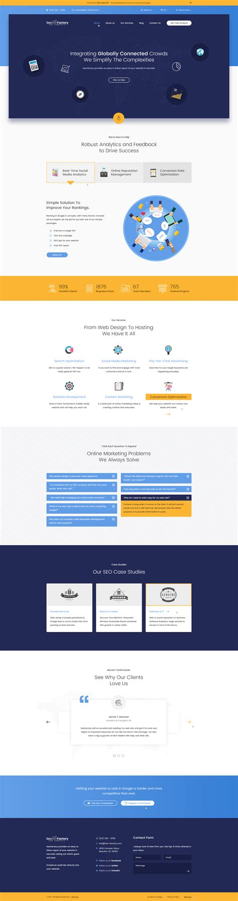 digital marketing agency template seo factory seo agency social media agency digital