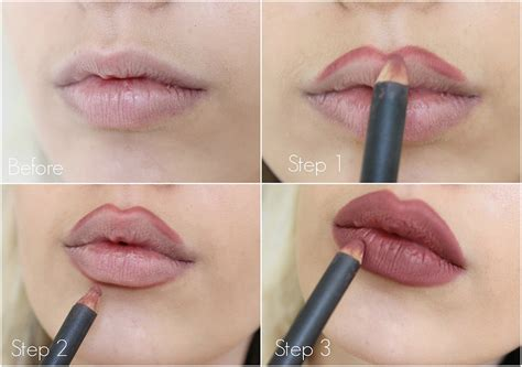 can you tattoo your lips bigger how to over draw your lips kylie jenner inspired