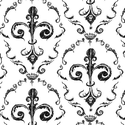 black and white victorian pattern black victorian pattern patterns gallery