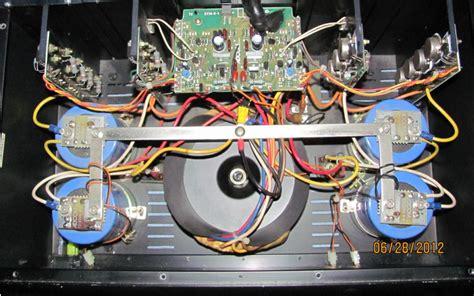 adcom gfa 555 capacitors adcom gfa 555 polk audio