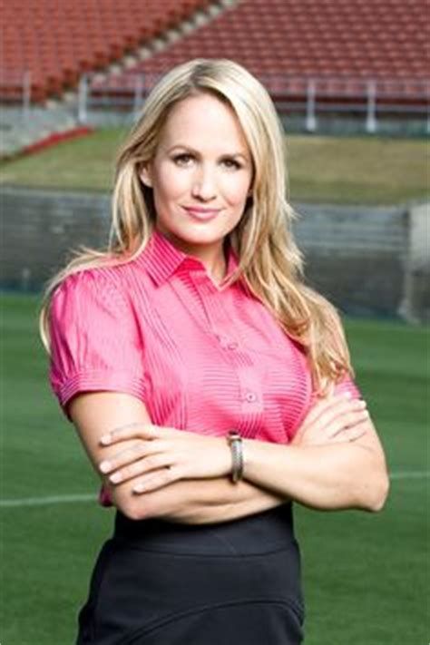 nfl female reporters brown hair jenn brown nfl network female news and sports reporters