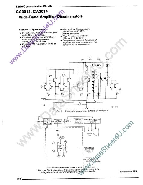 lateral power transistors in integrated circuits pdf application of the ca3018 integrated circuit transistor array 28 images ca3086 general