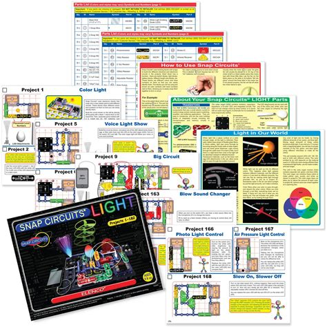 snap circuits lights electronics discovery kit snap circuits lights electronics discovery kit