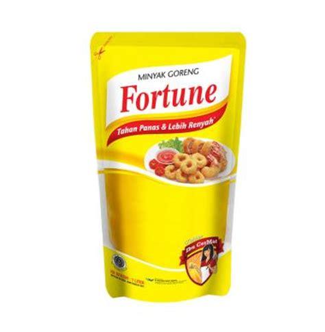 Minyak Kelapa Fortune jual fortune minyak goreng pouch 1000 ml harga